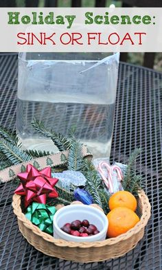 Christmas Science Experiment for Kids Holiday science experiment using Christmas items - fun for toddlers, preschoolers and early elementary! Easy to do at home or in a classroom too.