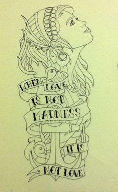 Love the face!! Tattoo idea!