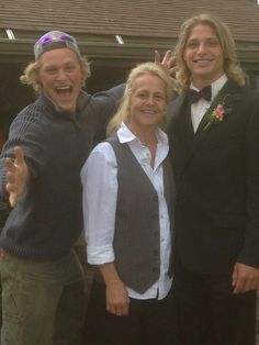 Sam, Lisa and John taking a snapshot before John goes off to his prom. 5/17/14