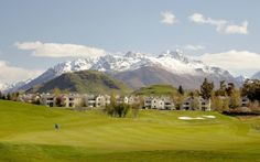 Millbrook Resort, Arrowtown. Nestled within the Southern Alps and framed by the stunning Remarkables Mountain Range, guests can enjoy the 500 acres of lush green fairways, rolling hills and gentle babbling streams that comprise this stunning location.