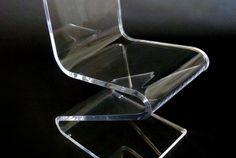 Z Chair in clear acrylic