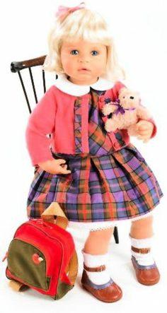 ZAPF Creations Zapf Creation Fondest Memories Marie School Days Doll... questa è già pronta per il ritorno a scuola oppure lo zainetto le serve per una gita estiva?! Per la serie FRATELLINI E SORELLINE DAL WEB...