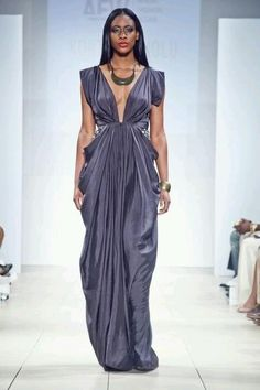 Luv this shade of purple! Korto of Project runway #AFW
