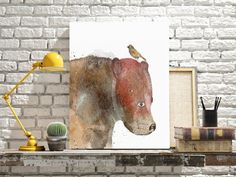 the bear and bird .colorful illustrations with by oxleystudio