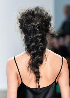 STYLECASTER | Braided Hairstyles Ideas | messy mermaid braid