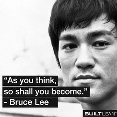 As You Think, So Shall You Become