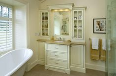Narrow Depth Vanity Design Ideas, Pictures, Remodel, and Decor - page 2