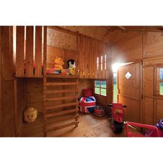 English Garden Swiss Chalet Wood Playhouse - Free Shipping Today - Overstock.com - 17275975 - Mobile
