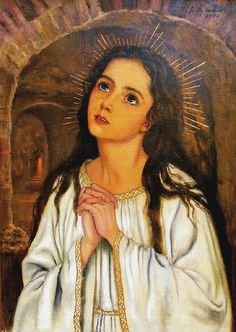 https://flic.kr/p/dy9wnd | Saint Philomena | Masa Feszty art