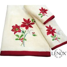 Lenox Winter Meadow Holiday Bath Towel Set