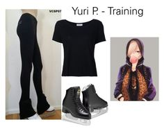 """Yuri P - Training"" by this-is-my-crazy-universe ❤ liked on Polyvore featuring Frame"
