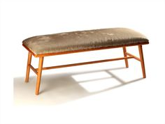 Upholstered leather bench NANO Ettero Collection by Mambo Unlimited Ideas | design Claudia Melo