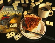 Hyper_Realistic_Paintings_Of_Old_School_Snacks_And_Comics