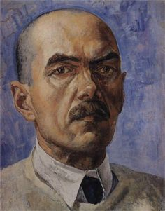 Self-portrait, 1929  Kuzma Petrov-Vodkin                                                                                                                                                                                 More
