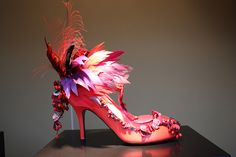 Beautiful Shoes in Printemps Department store windows, Par… | Flickr