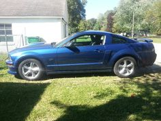 Oh she is a beauty!! GT Ford Mustang...perfect!!