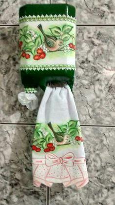 Puxa saco com material reciclavel