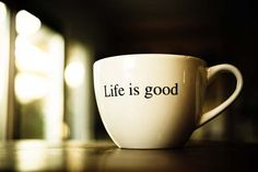 Especially when that cup is filled with piping, hot, steaming, bold coffee:)