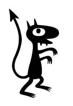 Luci the Demon, Disenchantment by taoufikfana Tattoo Sketches, Tattoo Drawings, Art Drawings, Tattoo Outline Drawing, Flash Art, Vexx Art, Graffiti, Kunst Tattoos, Cartoon Art