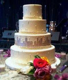 Custom Wedding Cakes Chicago Gourmet Truffles Baked Goods