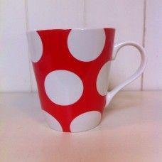 Big spot Stanley mug red Mugs, Tableware, Red, Design, Dinnerware, Tumblers, Tablewares, Mug