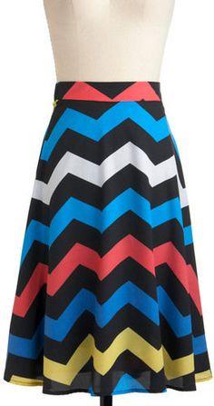 #ModCloth                 #Skirt                    #Electric #Zigzag #Skirt #Retro #Vintage #Skirts #ModCloth.com                Electric Zigzag Skirt | Mod Retro Vintage Skirts | ModCloth.com                                         http://www.seapai.com/product.aspx?PID=1101522