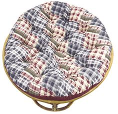 Add a pop of color to your favorite papasan chair with the Orient Originals Printed Patchwork Papasan Cushion . This soft cotton and polyester cushion. Papasan Cushion, Papasan Chair, Chair Cushions, Wooden Dining Chairs, High Back Dining Chairs, Desk Chairs, Bar Chairs, White Desk Chair, Big Comfy Chair