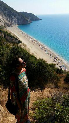 Milos beach, Lefkada, Greece