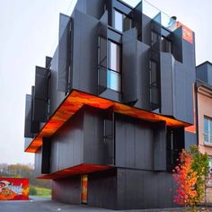 Apartment Building In Luxembourg Metaform Architects Foreigners Get All The Cool Buildings