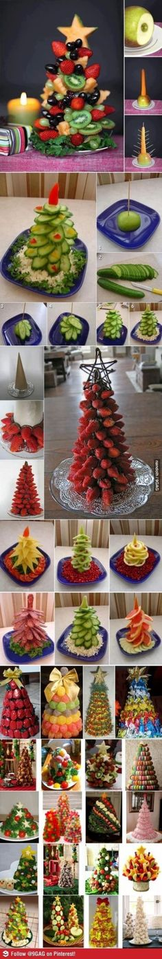 food christmas tree by LittleJo