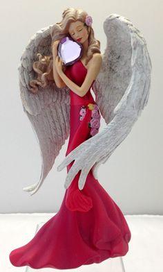 Heart of Joy - Heartfelt Promises Angel Figurine - Bradford  Thomas Kinkade