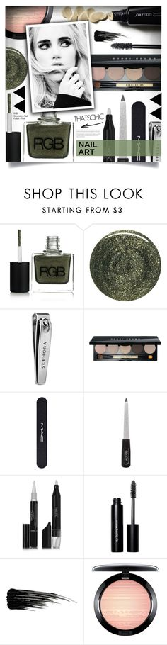 """Winter Nails"" by tawnee-tnt ❤ liked on Polyvore featuring beauty, RGB, Sephora Collection, Bobbi Brown Cosmetics, MAC Cosmetics, Revlon, Nails Inc., Urban Decay and nailedit"