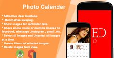 Photo Calendar by karma_infotech Photo Calendar Android app developed in android studio. It is compatible with android 6.0 version.  Demo apk : Demo apk  Features: Attractive User Interface. Show slideshow month wise. select month from swiping . show im