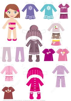 It is Time to Go to Bed for a Girl Paper Doll Paper crafts Paper Crafts For Kids, Craft Activities For Kids, Book Activities, Toddler Activities, Quiet Book Templates, Templates Printable Free, Free Printables, Paper Dolls Clothing, Barbie Paper Dolls