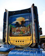 Disney Truck (Lesneyman) Tags: holland netherlands dutch festival truck trucker nederland trucks circuit airbrush drenthe vrachtwagen assen truckers truckdriver lkw vrachtwagens truckstar ttcircuit nederlnderna racingcircuit specialpaint bedrijfswagen truckstarfestival lesneyman