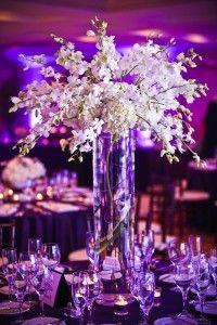 RehearsalDinner.com | Inspirations - Rehearsal Dinner Floral Centerpieces