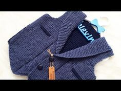 Mens Knit Sweater Pattern, Sweater Knitting Patterns, Baby Knitting, Crochet Baby, Knitting Videos, Crochet Doll Pattern, Felt Art, Sweaters, Crochet Coat