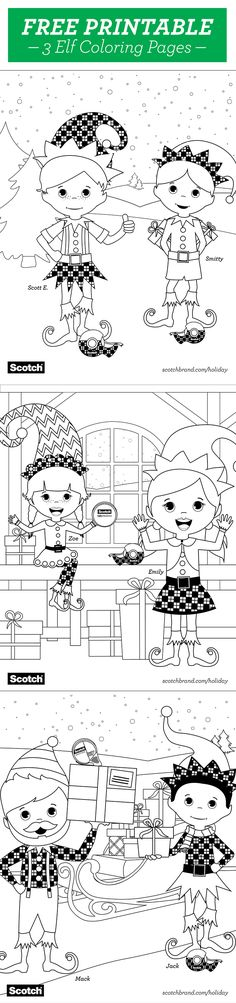 1554 best Kids Coloring images on Pinterest in 2018 | Christmas ...