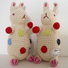 Cute pair of Polka Dot Bunny Rabbits!