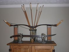 Traditional Mongol weaponry