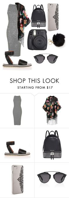 """""""Untitled #131"""" by youngchanel ❤ liked on Polyvore featuring Topshop, Michael Kors, Nanette Lepore and Christian Dior"""