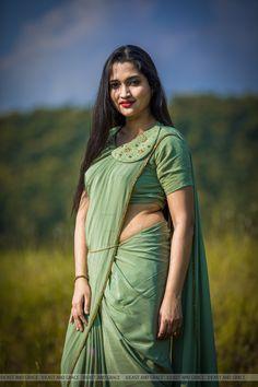 Blouse Patterns, Blouse Designs, Orange Saree, Indian Jewellery Design, Saree Look, Indian Designer Wear, Silk Crepe, Ladies Dress Design, Traditional Dresses