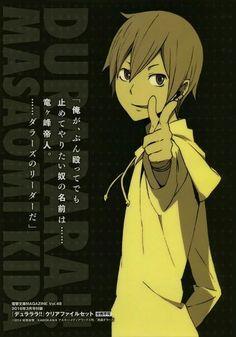 Durarara!! | Kida Masaomi | Alice :3