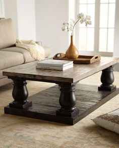 """Stratford"" Coffee Table by Haute House at Horchow."