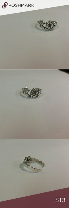 Sterling silver turtle toe ring This is your sterling silver adjustable turtle  toe ring marked 925.  This is the best quality of sterling silver you can buy Jewelry Rings