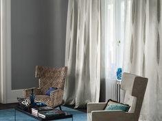 rideaux design et décoration de salon contemporain par Zimmer + Rohde