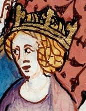 "Anne of Kiev, Queen Consort (c.1030-75) as wife of King Henry I of France. Remarkable lady:  could write and read five languages, including Greek and Latin, while her husband and his entire court could not write and read, and signed themselves with a cross. Actively participated in governing France. Henry respected  Anna so much that his decrees bear the inscription ""With the consent of my wife Anna"", unique in French royal history."