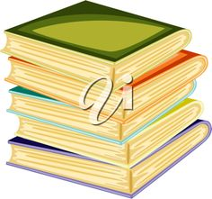 iCLIPART - Illustration of a books on a white background