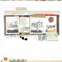 Just a Little Glimpse | Studio Calico October kit - Two Peas in a Bucket