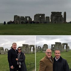 Stunning Stonehenge with our friends Richard and Pam Hanlon.